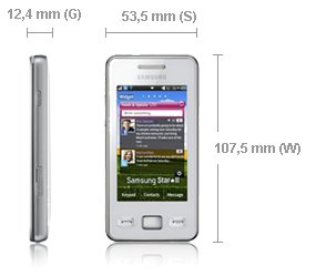 Test telefonu Samsung Star II