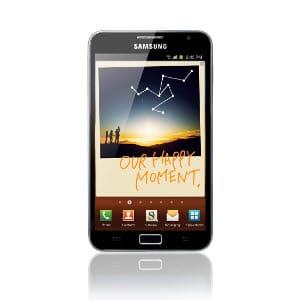 Test Samsung Galaxy Note