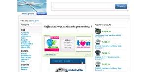 Wyszukiwarka prezentów - www.moj-prezent.pl
