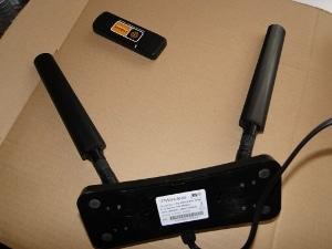 Antena pokojowa LTE Cyfrowego Polsatu