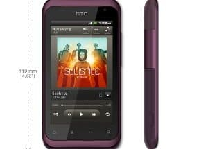 htc rhyme - test telefonu z Android