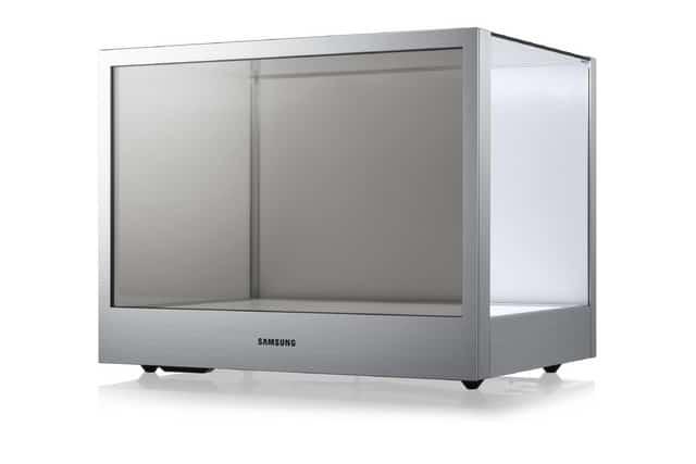 Przeźroczysty wyświetlacz Samsunga