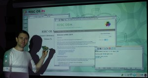 Prezentacja RISC OS na Raspberry Pi