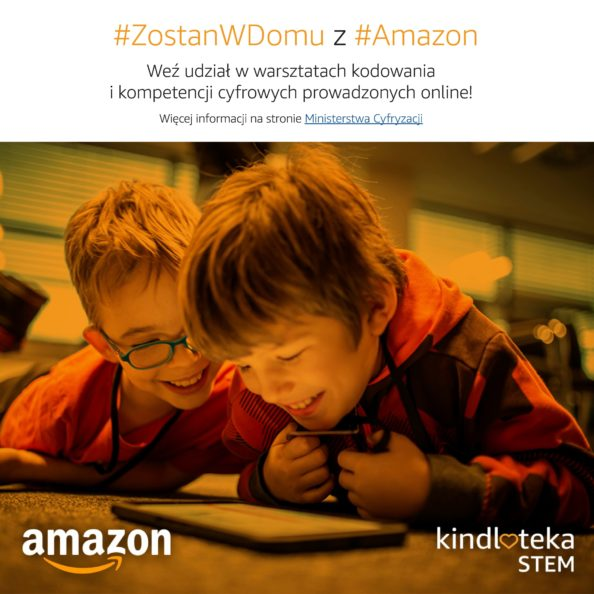 warsztaty amazon stem kindloteka