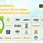 """25 kanałów w """"otwartym oknie"""" w Cyfrowym Polsacie"""